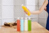 Botellas plásticas cuadradas francesas del jugo con los casquillos inalterables