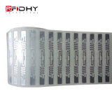 Gravação de alumínio PVC antena UHF RFID para a cadeia de fornecimento de inlay