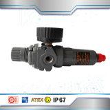 Regulador do filtro de ar em aço inoxidável