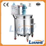 Aço inoxidável com tanque de mistura de emulsionar homogeneizador de mistura