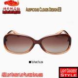 Senhora clara Polarized Óculos de sol do inclinação A252