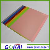 Venda a quente a folha de plástico de PVC rígido transparente