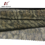軽量のゆがみの編む網のタイプの純ファブリックは印刷した