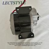 Motor aplicado con brocha C.C. del engranaje en el Ir-Carro y la bicicleta eléctrica con la C.C. de 350W 24V 12V