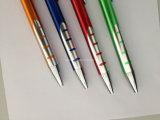 Crayon lecteur ou crayon de bille en aluminium en métal de Retracable