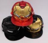 OEM ягнится бейсбольные кепки человека утюга детей кожаный для промотирования