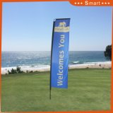 Флаг на открытом воздухе 3.8m полюс подставка коммерческих оппозиционерам подбежали сотрудники Омона, Пляж флаг
