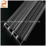 Malla de alambre de acero inoxidable cinta transportadora para pastel
