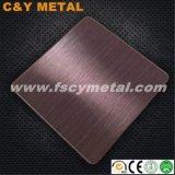 Prezzo Manufactured della linea sottile delle 304 dell'acciaio inossidabile lamiere/lamierino no. 4