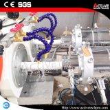 Linha de produção elevada da tubulação do PVC da extrusora de parafuso do gêmeo da automatização