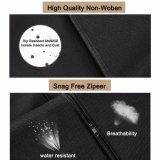 Schwarze faltbare Arbeitsweg-Breathable Klage-verpackenkleid-Beutel mit Griffen