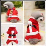 Costume divertente di natale dell'animale domestico per il cane ed il gatto