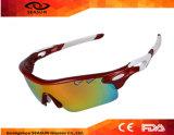 بيع بالجملة يستقطب نظّارات شمس رجال ونساء زاهية عدسة عمليّة تتبّع زجاج [أوتدوور سبورت] درّاجة نظّارات شمس