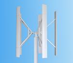 generador de turbina vertical de viento de 500W 12V/24V Vawt en la revolución por minuto inferior