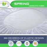 Deluxe100%の綿の厚く合われた防水テリーのマットレスの保護装置