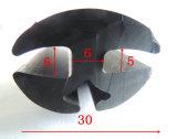 FPM/EPDM/NBR de Strook van het schuimrubber in Zwarte Kleur