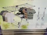 Forte de vêtements de pliage de séchage en acier inoxydable Rack/sèche-linge