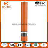 A melhor bateria de venda da embalagem da cor opera o moedor de pimenta