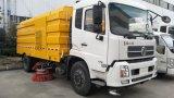 Opgezette Veger van de Vrachtwagen van de Weg van Sinotruk HOWO 4X2 de Lichte Vegende Vrachtwagen