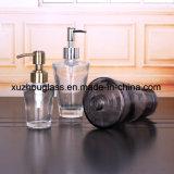 Glashaar-Öl-Flasche mit Plastikschutzkappe