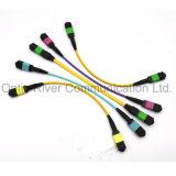 32f Om4 dfo-mpo Patchcord cavalier fibre optique Connecteur MM