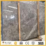 La toundra de dalles de marbre gris/gris pour les carreaux de marbre, les planchers, des comptoirs