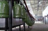 Het Schilderen van de Oppervlakte van de Cilinder van LPG Machine met het Hangen van Ketting