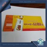 Documento termico biglietto di stampa di entrambi i lati