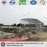 Vertiente impermeable estructural de acero prefabricada del almacenaje del panel de emparedado