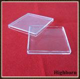 Clear Customized Public garden Quartz $petri Dish