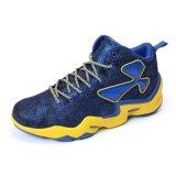 Zapatos de baloncesto respirables de la marca de fábrica del alto del corte del OEM de baloncesto Mens del zapato