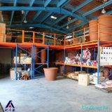 Assoalho de mezanino personalizado do armazenamento do armazém 1500~3000kgs/Level do preço de fábrica