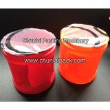 Jarra de zumo de la lengüeta de plástico de la máquina de sellado