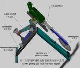Dn50-1250mm válvula de compuerta de portátil de trituración y de la máquina de recubrimiento