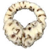 Paraorecchie sfocato caldo di inverno del paraorecchie della pelliccia di falsificazione di alto modo