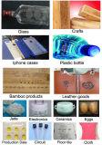 Кожаный CO2 маркировка лазерной гравировки машины для Таиланда