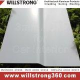 Los paneles compuestos de aluminio antibacterianos para la fachada