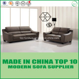 Sofá moderno determinado del cuero de la oficina de los muebles modulares