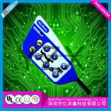 3mの接着剤のCmykスクラッチ抵抗力がある多彩な、選り抜きボタンの膜スイッチパネル