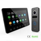 Домашняя обеспеченность 7 видео- дюймов внутренной связи телефона двери с памятью