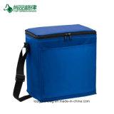 Vous pouvez personnaliser 12 économique durable Ouvrez Pocket Polyester avant le déjeuner de l'épaule du refroidisseur d'une sacoche de transport
