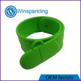 Привод вспышки USB Wristband силикона с полной производственной мощностью