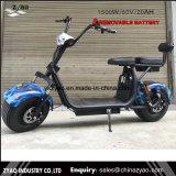 """""""trotinette"""" elétrico de Citycoco 1500W da bateria de lítio do motor 60V20ah da escala 1500W de Zyao 50-100km"""