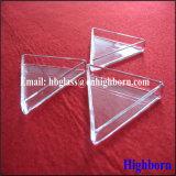 Contenitore di vetro triangolare trasparente del quarzo del silicone di vendita calda