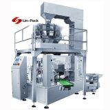 Máquina de embalagem material dobro de Hangzhou com balança de controlo