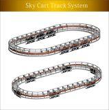 Sistema Running do carro da trilha (YZ-D681), uso da máquina do divertimento para a exposição do carro