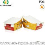 Rectángulo de papel disponible para llevar del acondicionamiento de los alimentos