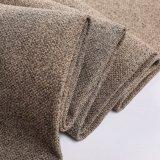 Nuevo poliester 100% del color del estilo caliente para la tela de lino