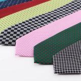 Relation étroite de collet tissée par polyester de type de créateur