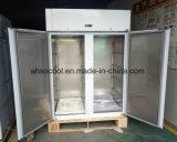 Strumentazione della cucina, frigorifero commerciale dell'acciaio inossidabile per le cucine dell'hotel